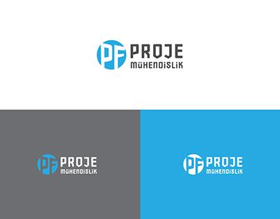 PF Proje Mühendislik Logo Çalışması