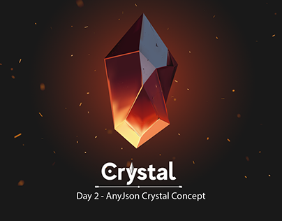 Crystal Concept For Game Ui - AnyJson