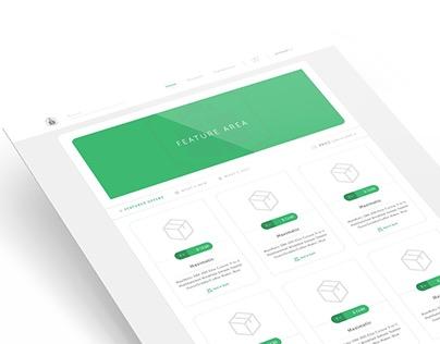 Web Application - Distribute (E-Commerce/B2B/Retail)