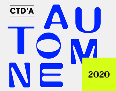 CTD'A 20/21 Typographie