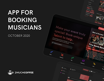 App for Booking Musicians