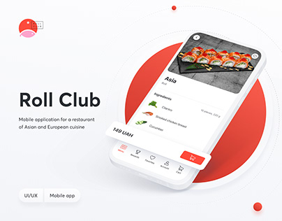 Roll Club - Food Delivery Mobile App