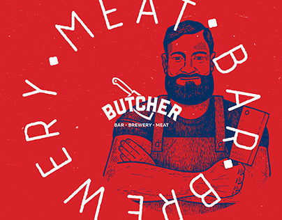Butcher. Meat-Bar-Brewery