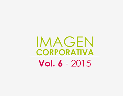 Imagen Corporativa Vol.6 - 2015