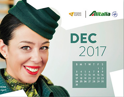 Alitalia Calendar 2017