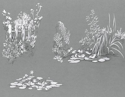 Nature - inks