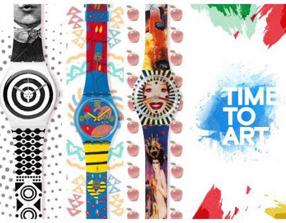 SWATCH - Evento Time To Art
