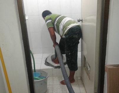 Tukang melancarkan wc Mampet