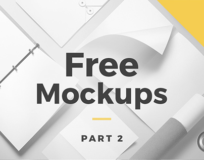 Free Mockups | Part 2