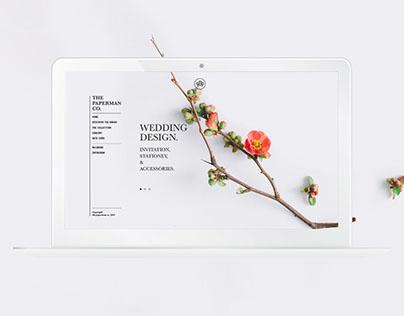 Paperman Wedding Website