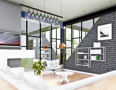 Diseño de interiores, (Sala)