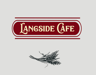 Langside Cafe - Menu & Rebrand