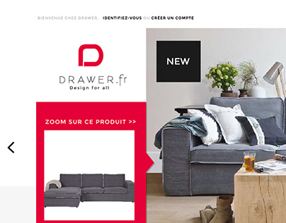 Drawer Ecommerce // Refonte Graphique