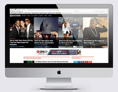 Celeb Edition Entertainment Website