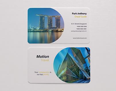 Card Design ( Type-Tourist Guide )