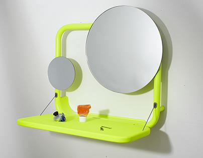 Pop-Up Mirror