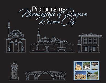 #Monuments of Prizren Kosovo#