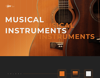 """Online shop musical instruments """"IHY"""""""