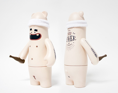 Froth Lover for Brew Toys Exhibition.