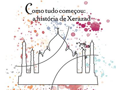 História de Xarazad - Ilustração