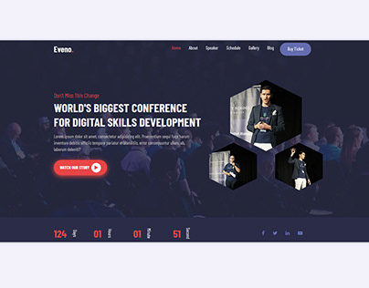 Best Responsive Event Website 2020 - Envato