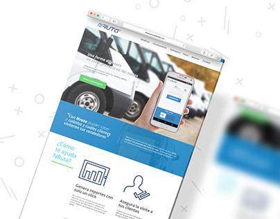 Nruta // Diseño Web