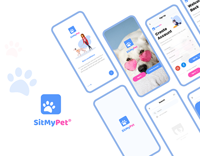 "Pet Sitting App UX Case Study "" SitMyPet"""