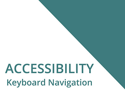 Accessibility - Frontend