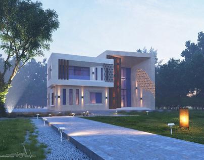 Modern Villa Design - Abu Dhabi