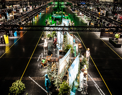 ISPO Munich 2017   HALLB6  Polygon   Hall design