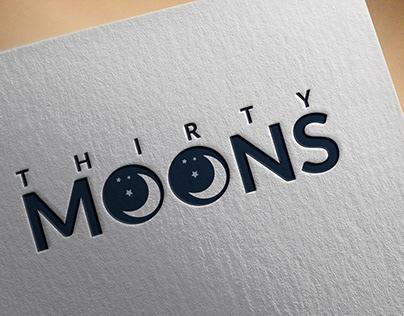 Thirty Moons Logo Design