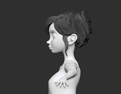 W.i.p 3D girl Character