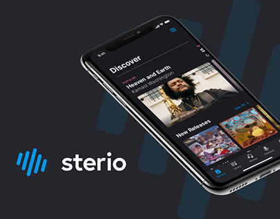 Sterio Music App