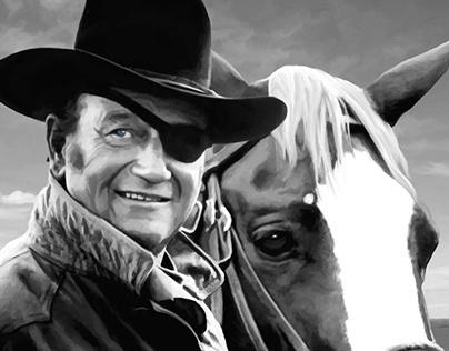 John Wayne @ True Grit #1