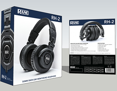 Rane RH-2 Headphone Packaging