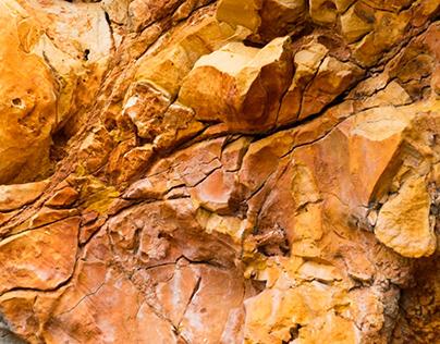 Piedras. Rocks. The innards of the world