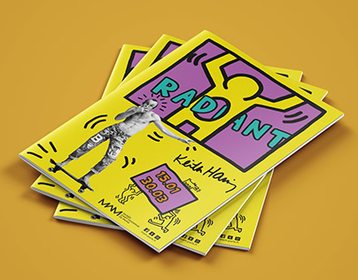 Exhibition mag | Radiant | Keith Haring (fictitious)