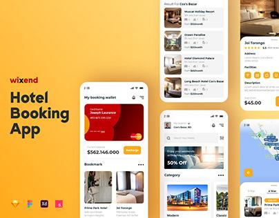 Hotel Booking App