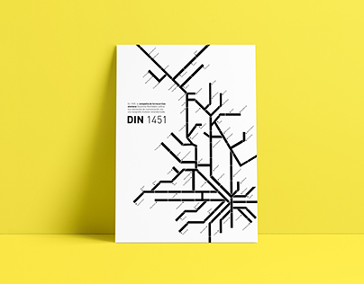 Type Poster: DIN 1451