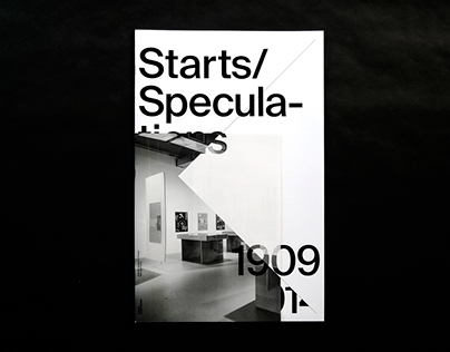 Exhibition Catalog: Starts/Speculations