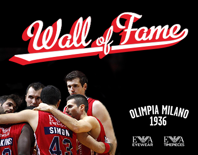 EA7 Olimpia Milano - Wall of Fame Challenge