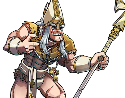 Barbarian Pope [Character design]