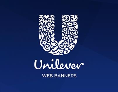 Unilever Web Banners