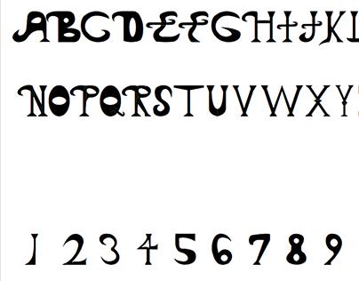 Seventy-Eight Custom Font