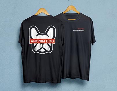 Anonim Dog T-Shirt Design