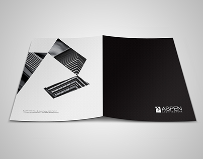 Aspen Architecture Logo Edit and Redesign all Materials