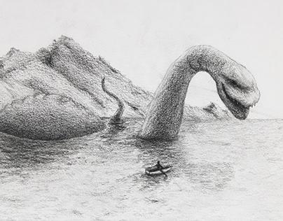 Loch Ness Monster Encounter