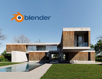 BLENDER ARCHVIZ / FULL CGI