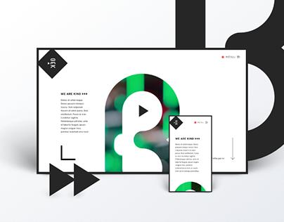 Bekind Website design