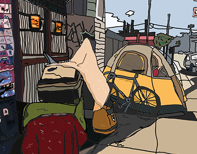 The Streets of San Francisco Tent